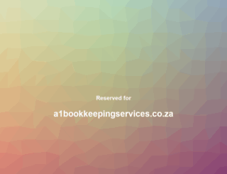 a1bookkeepingservices.co.za screenshot