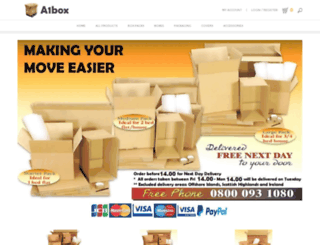 a1box.co.uk screenshot