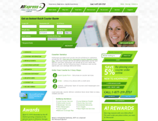 a1express.com screenshot