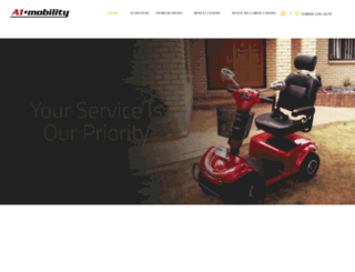 a1mobility.co.uk screenshot