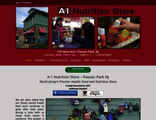 a1nutrition.com screenshot
