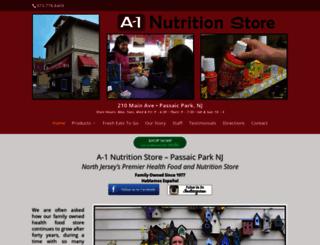 a1nutritionstore.com screenshot