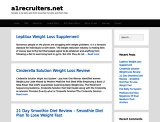 a1recruiters.net screenshot