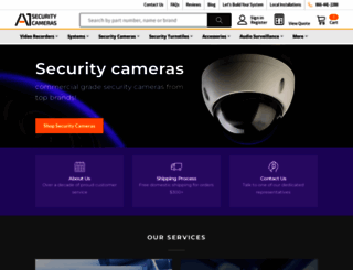 a1securitycameras.com screenshot