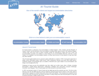 a1touristguide.com screenshot