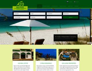 a20realestate.com screenshot