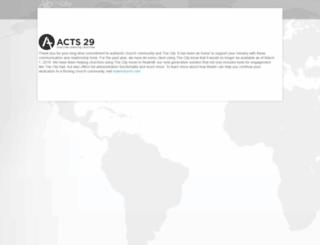 a29.onthecity.org screenshot