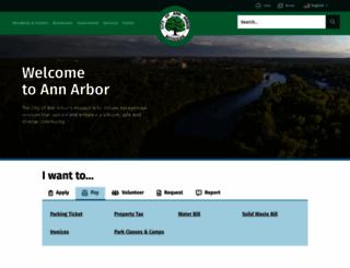a2gov.org screenshot