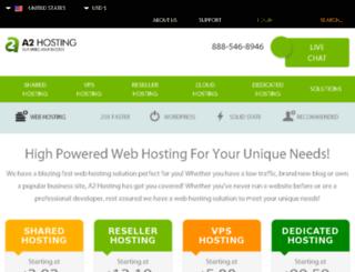 a2hosted.com screenshot