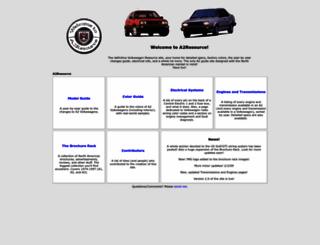 a2resource.com screenshot