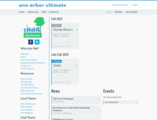 a2ultimate.org screenshot