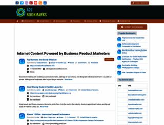 a2zbookmarks.com screenshot
