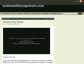 a2zbrandzbycapricorn.com screenshot