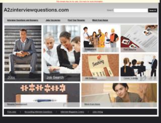 a2zinterviewquestions.com screenshot