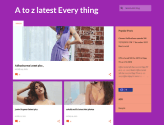 a2zlatest.blogspot.in screenshot