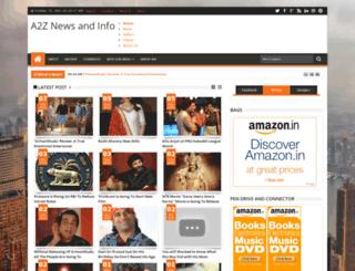 a2znewsandinfo.blogspot.in screenshot