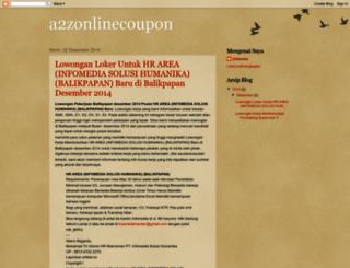 a2zonlinecoupon.blogspot.in screenshot