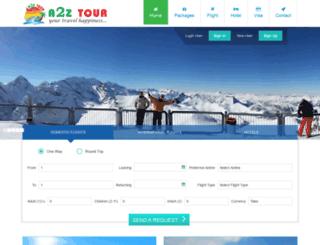 a2ztour.com screenshot