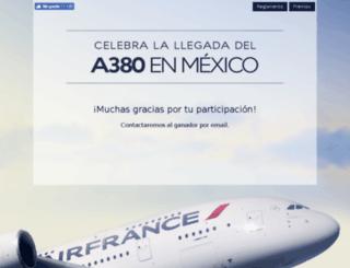 a380afconcursomexico.com screenshot
