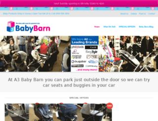 a3babybarn.co.uk screenshot