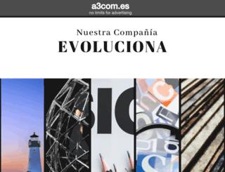a3com.es screenshot