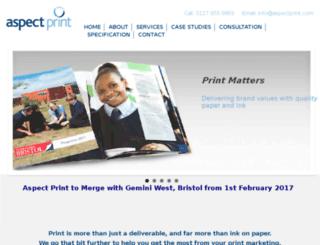 a3print.co.uk screenshot