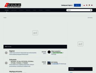a4-klub.pl screenshot