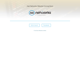a40networks.co.uk screenshot