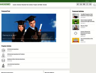 a4academics.com screenshot