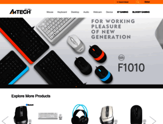 a4tech.com screenshot