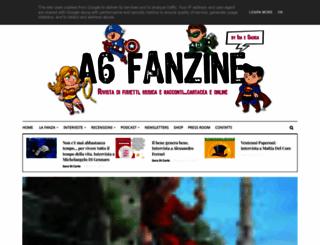 a6fanzine.blogspot.it screenshot