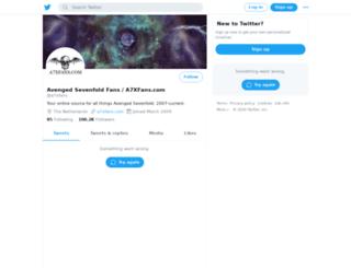 a7xfans.com screenshot
