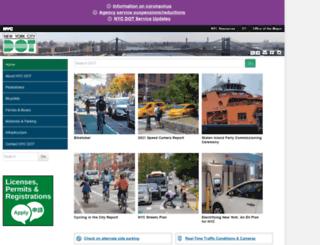 a841-dotweb01.nyc.gov screenshot
