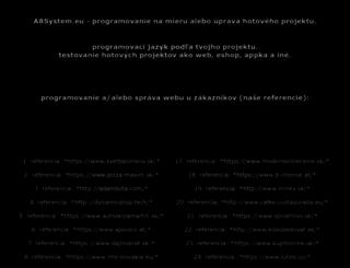 a8system.eu screenshot