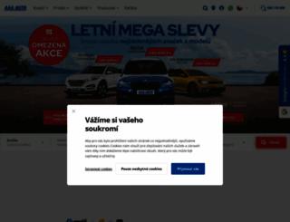 aaaauto.cz screenshot