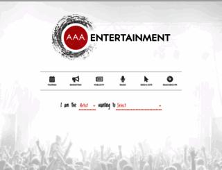 aaaentertainment.com.au screenshot