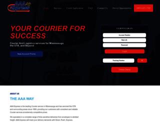 aaaexpressonline.com screenshot