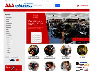 aaakocarky.cz screenshot
