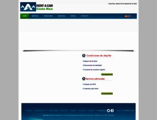 aaarentacarcostarica.com screenshot