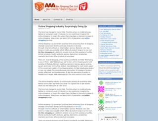 aaateleshoping.wordpress.com screenshot