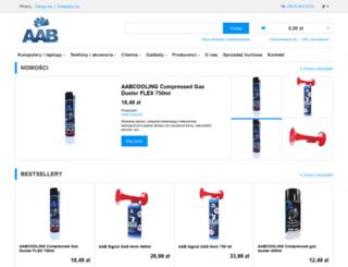 aab.com.pl screenshot