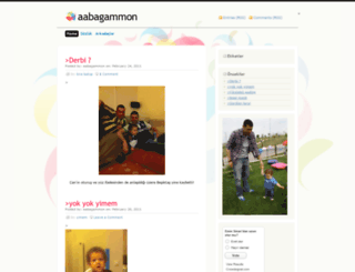 aabagammon.wordpress.com screenshot