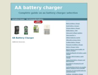 aabatterycharger.org screenshot