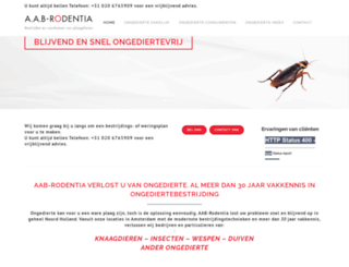 aabrodentia.nl screenshot