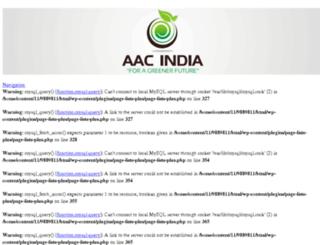 aac-india.com screenshot