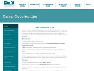 aacc.hiretouch.com screenshot