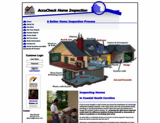 aaccucheck.com screenshot