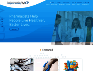 aacp.org screenshot