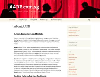 aadb.com.sg screenshot