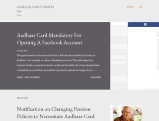 aadhaarcard.blogspot.in screenshot